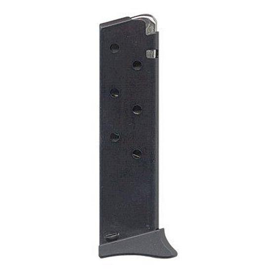 Bersa THUN380BLMAG Thunder|Firestorm 380 Automatic Colt Pistol 7rd Finger Extenstion Aluminum Black
