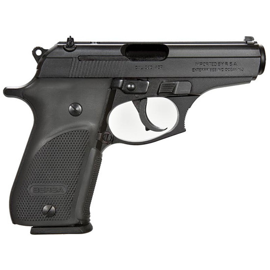 Bersa THUN380PM15 Thunder Plus DA|SA 380ACP 3.5 15+1 Blk Poly Grip Black in.