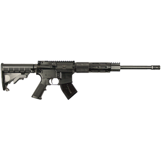 Franklin Armory 1222 F17 M4 Semi-Automatic 17 WSM 16 10+1 6-Position Black Stk Black Hard Coat Anodized in.