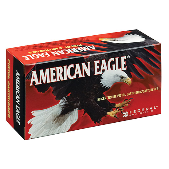 Federal AE25AP American Eagle Handgun 25 Automatic Colt Pistol (ACP) 50 GR Full Metal Jacket 50 Bx| 20 Cs