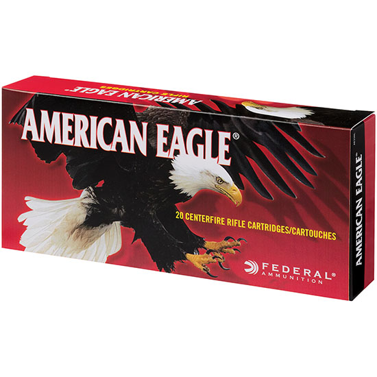 Federal AE338L American Eagle Rifle 338 Lapua Magnum 250 GR Jacketed Soft Point 20 Bx| 10 Cs