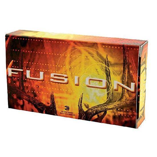 Federal F338FS1 Fusion Rifle 338 Winchester Magnum 225 GR Fusion Soft Point 20 Bx| 10 Cs