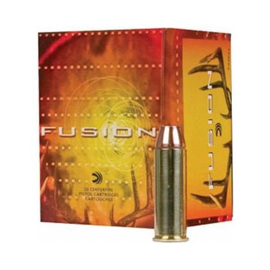 Federal F44SF1 Fusion Medium Game Handgun 44 Remington Magnum 240 GR Fusion Soft Point 20 Bx| 10 Cs