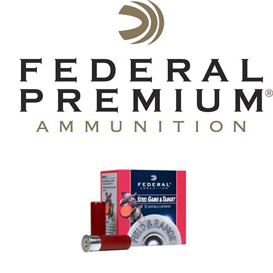 Federal FRS126 Target Field & Range 12 Gauge 2.75 1 oz 6 Shot 25 Bx| 10 Cs in.