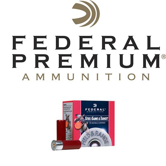Federal FRS206 Target Field & Range 20 Gauge 2.75 3|4 oz 6 Shot 25 Bx| 10 Cs in.