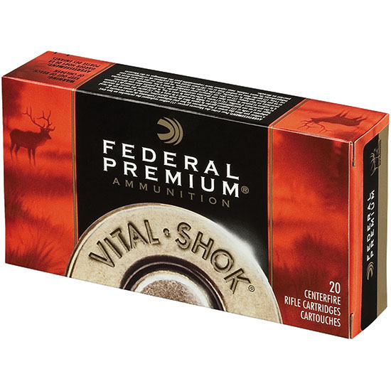 Federal Vital-Shok 308 Winchester 20rd Ammo