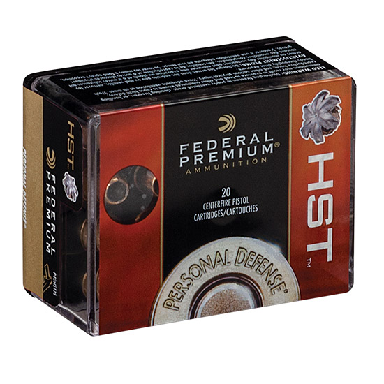 Federal P44HS1 Premium Personal Defense  44 Remington Magnum 240 GR Hydra-Shok JHP 20 Bx| 25 Cs