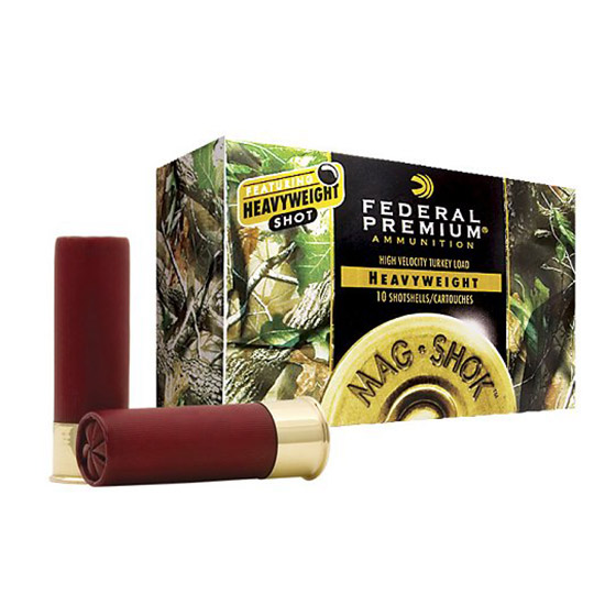 Fed PHT1935 Prem Mag Shok Heavyweight Turkey 12 ga 3 1-3|8oz 5 Shot 10Bx|10Cs in.