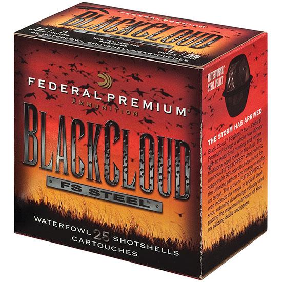 FEDERAL AMMUNITION 12 Ga 2-3|4 in 1 oz #3 Black Cloud 25|Box