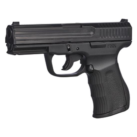FMK G9C1G2CAMA 9C1 G2 Double 9mmLuger  4 10+1 Black Polymer Grip Frame Black Carbon Steel in.
