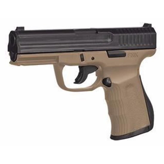 FMK G9C1G2DE 9C1 G2 FAT Single 9mm Luger 4 14+1 Dark Earth Polymer Grip Frame Black Carbon Steel in.