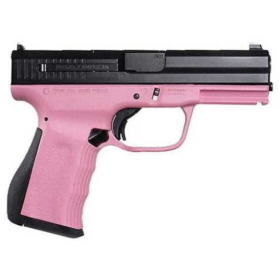 FMK G9C1G2PKCM 9C1 G2 *State Approved* Double 9mm Luger 4 10+1 Pink Polymer Grip|Frame Black Carbon Steel in.