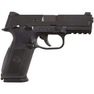 FN 66946 FNS 40 Double 40 Smith & Wesson (S&W) 4 10+1 Black Polymer Grip|Frame Grip Black Stainless Steel in.