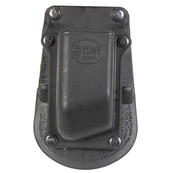 Fobus 390145 SNGL MAG Pouch Black Plastic