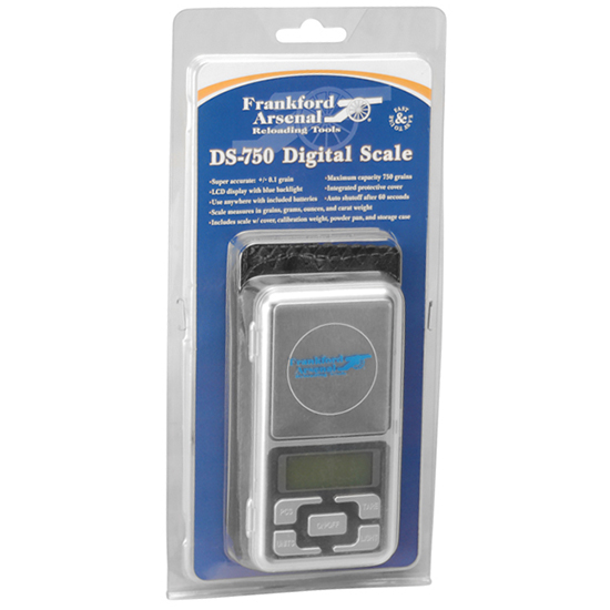 Frankford Arsenal 205205 DS-750 Reloading Scale Digital AAA (2)