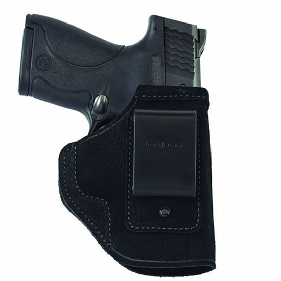 Galco STO224B Stow-N-Go Inside The Pants Glock 17 Black Steerhide