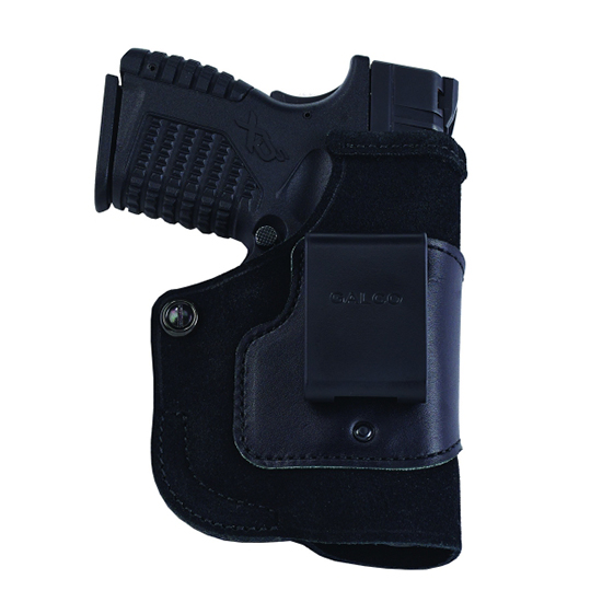 Galco Stow-N-Go Inside The Pant Holster For Viridian w/ECR,Springfield XD-S 3.3in,Right Hand,Black STO698B