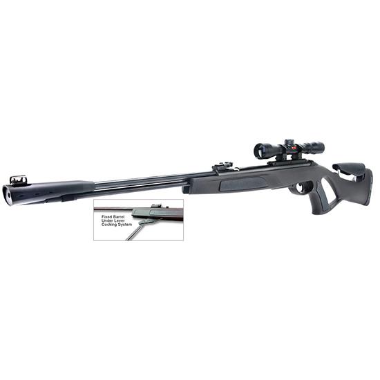 Gamo 61100073154 Whisper CFR Air Rifle Spring .177 Pellet 3-9x40mm Scope Black