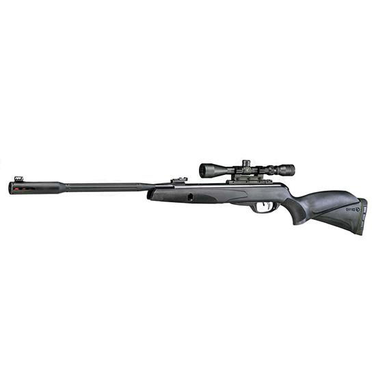 Gamo 6110063254 Whisper Fusion Mach 1 Air Rifle with 3-9x40mm Scope  Break Open .177 Pellet Black
