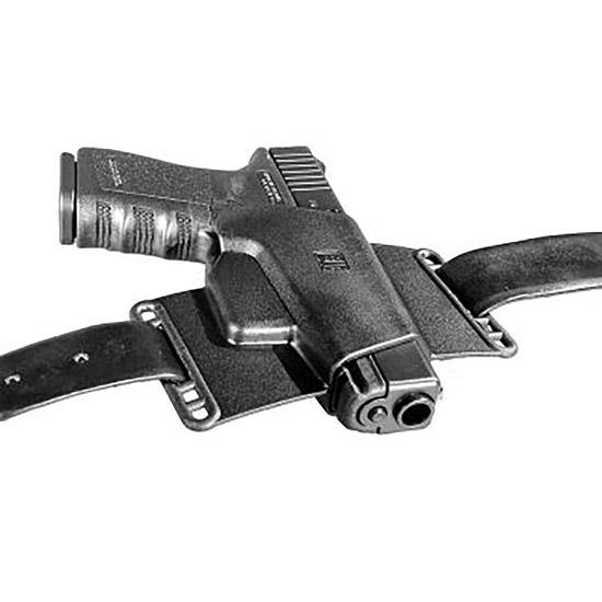 Glock H002639 Sport|Combat Belt Slide Large Glock 20|21|29|30|37|38|39|41 Polymer Black Card Pkg