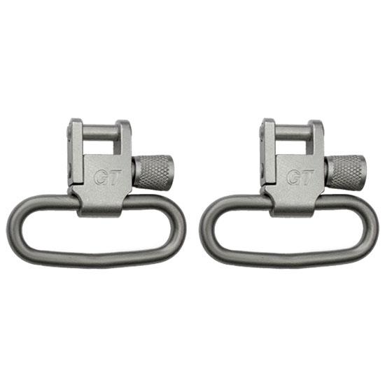 GrovTec USA Swivels 1-25-inch Locking Nickel