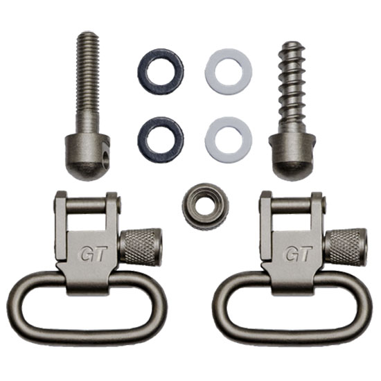 GrovTec USA Swivels 1 inch SCREW Set Nickel