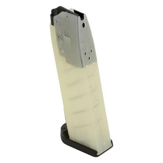 HK 215116S USP Magazine USP 40 16 rd Round Polymer Clear Finish
