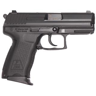 HK M709203A5 P2000 V3 9mm Luger Single|Double 3.66 13+1 Black Interchangeable Backstrap Grip Black Slide in.