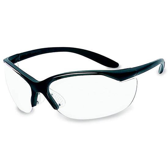 Howard Leight R01535 Vapor II Shooting|Sporting Glasses Black Frame|Clear Lens