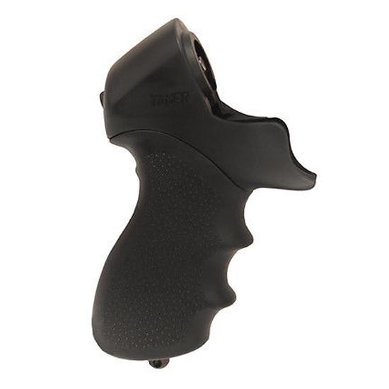 Hogue 05014 OverMolded Tamer Shotgun Grip Mossberg 500 Rubber Black