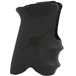 Hogue 94000 Rubber Grip with Finger Grooves Ruger P93|94 Black