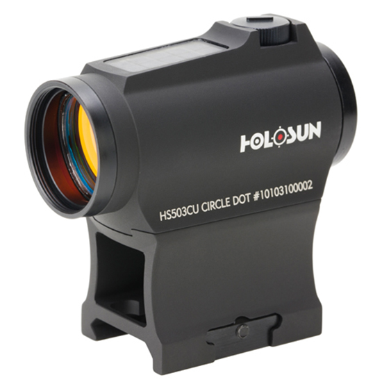 Holosun HS503CU Circle Dot Black Red Dot Sight