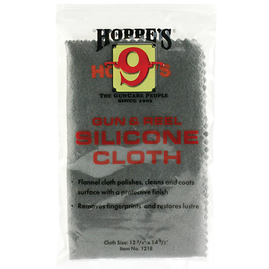 Hoppes 1218 Silicone Cleaning Cloth 12.75 x 14.5 in.  in.