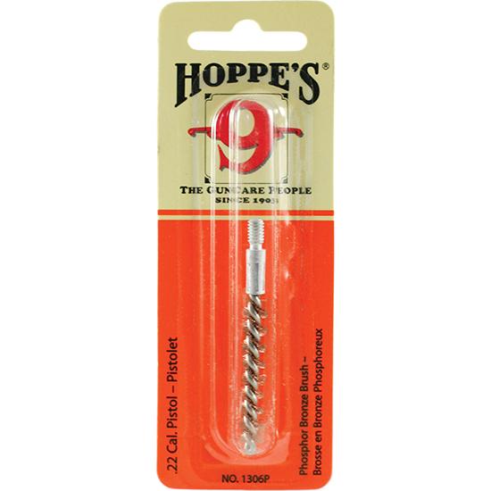 Hoppes 1306P Phosphor Bronze Cleaning Brushes .22 Cal 10pk
