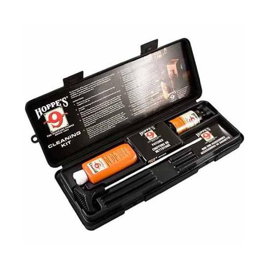 Hoppes UO Rifle Shotgun Cleaning Kit w Plastic Box