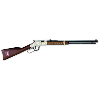 Henry H004ES Golden Boy Eagle Scout Tribute Edition Lever 22 Short|Long|Long Rifle 20 16 LR|21 Short American Walnut Stk Nickel Receiver|Blued Barrel in.