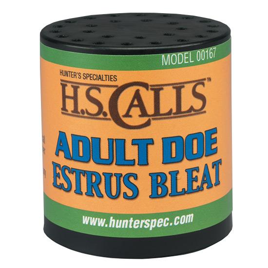 Hunters Specialties 00167 Adult Doe Estrus Bleat Call Medium
