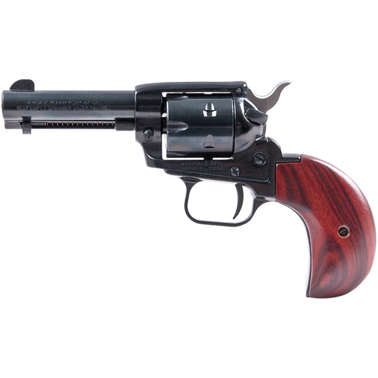 Heritage Mfg RR22MB3BH Rough Rider Small Bore Single 22 Long Rifle 3.5 6 Cocobolo Bird Head Blued in.
