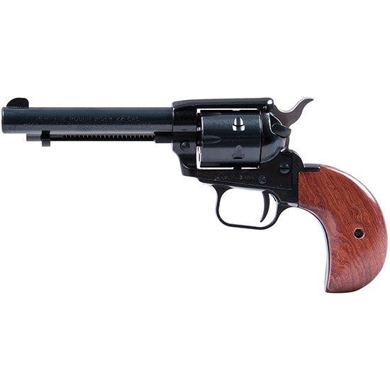 Heritage Mfg RR22MB4BH Rough Rider Small Bore Single 22 Long Rifle 4.75 6 Cocobolo Bird Head Blued in.