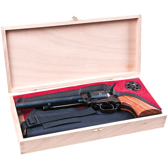 Heritage Mfg RR22MB6BXHOL Rough Rider Small Bore Single 22 Long Rifle 6.5 6 Cocobolo Blued in.