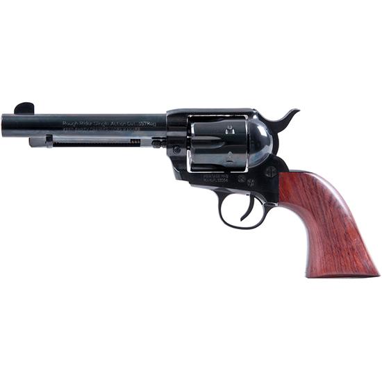 Heritage Mfg RR357B5 Rough Rider Big Bore Single 357 Magnum 5.5 6 Cocobolo Blued in.