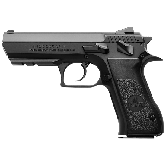 IWI US J941F910 Jericho 941 F9 9mm Luger Single|Double 4.4 10+1 Black Polymer Grip Black Steel Frame|Slide in.