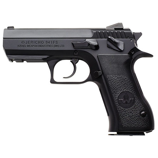 IWI US J941FS45 Jericho FS45 DA|SA 45ACP 3.8 10+1 Blk Poly Grip Black in.