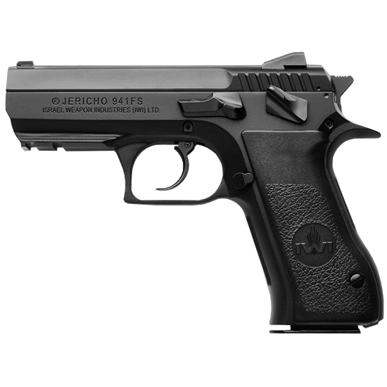 IWI US J941FS9 J941 FS9 Single|Double 9mm 3.8 16+1 Black Synthetic Grip Black in.