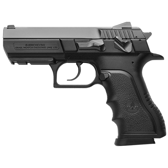 IWI US J941PSL9 Jericho PSL9 DA|SA 9mm 3.8 16+1 Blk Poly Grip|Frame Black in.