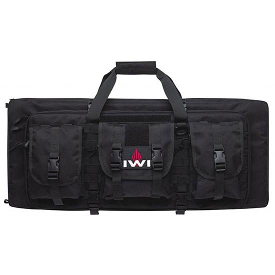 IWI US TCM200 Tavor SAR Double Gun Case Polyester Rugged Blk