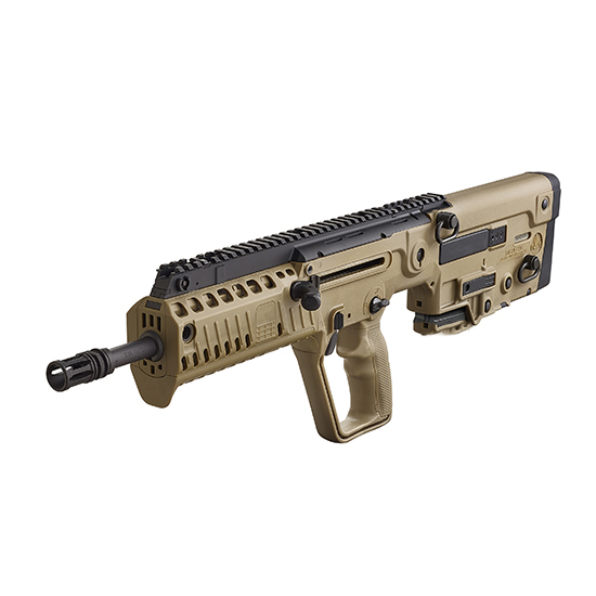 IWI US XFD1610 Tavor X95 Semi-Automatic 223 Remington|5.56 NATO 16.5 10+1 Polymer Bullpup Flat Dark Earth Stk Black in.