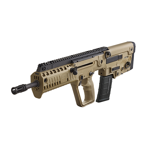 IWI US XFD16BLK Tavor X95 Semi-Automatic 300 AAC Blackout|Whisper (7.62x35mm) 16.5 30+1 Polymer Bullpup FDE Stk Black in.