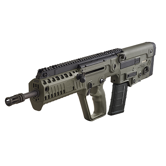 IWI US XG16 Tavor X95 Semi-Automatic 223 Remington|5.56 NATO 16.5 30+1 Polymer OD Green Stk Black in.