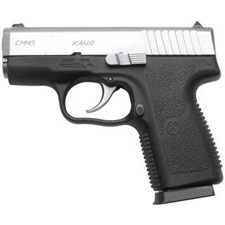 Kahr Arms CM4543 CM45 DAO 45ACP 3.1 5+1 Black Polymer Grip Stainless in.